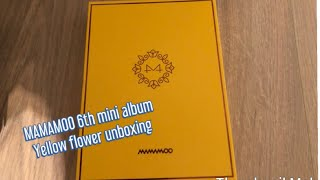 Categories video MAMAMOO YELLOW FLOWER MINI ALBUM