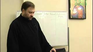 Уроки православия. Православная антропология. Урок 1. 20 января 2014