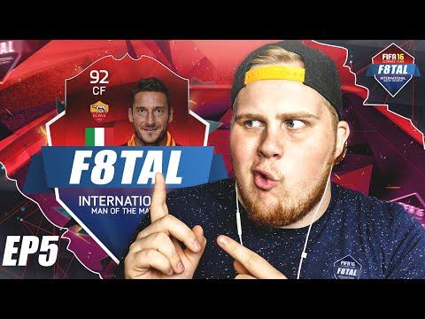 LEGEND F8TAL #5 | FRANCESCO TOTTI!! - FIFA 16 på svenska