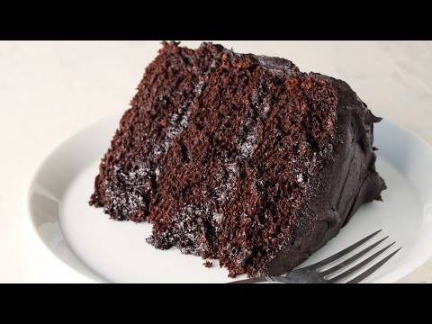 How To Make The Most Amazing Chocolate Cake