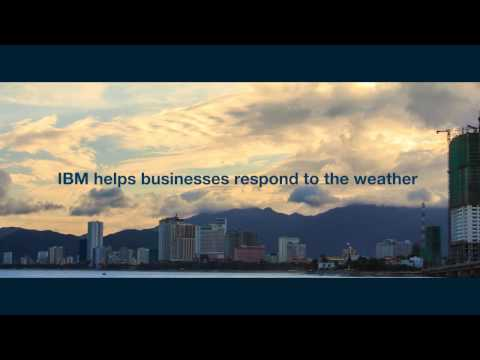 IBM helps businesses respond to the weather
