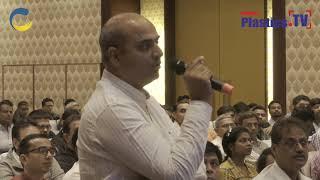 Mr. Rajiv Trivedi at IndiaPlast 2019 Ahmadabad Roadshow addressing the guest