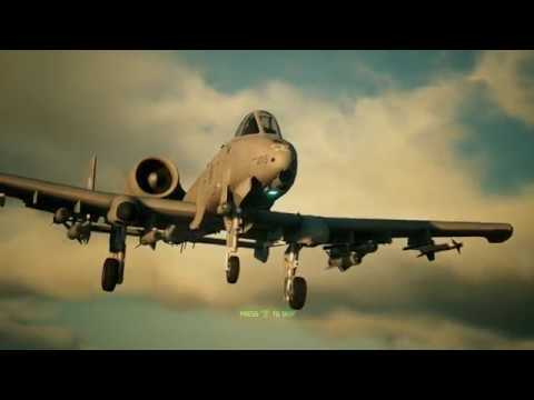 Ace Combat 7 Skies Unknown - Mission 06 'Long Day' - A-10C Warthog - HARD difficulty