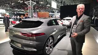 2019 Jaguar I-Pace deep dive with designer Wayne Burgess