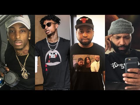 Funny Mike/22 Savage SNAPS ON 21 & EVERYDAY STRUGGLE! CALLS AK D*CK RIDER & SAY JOE WOULD GET R0BBED