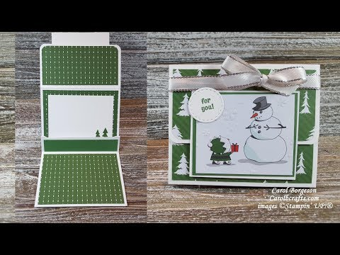Stampin' Up! Candy Cane Season Christmas Gift Card Holder