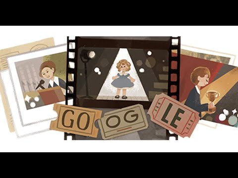 Google honours Hollywood icon Shirley Temple with an animated ...