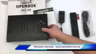 Видео обзор Openbox AS1 HD