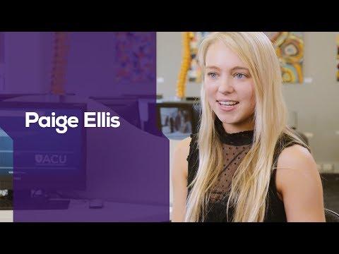 ACU I Bachelor of Arts I Paige Ellis