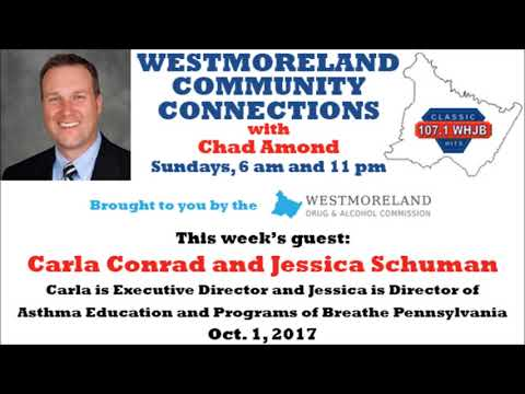 Westmoreland Community Connections - Oct. 1, 2017
