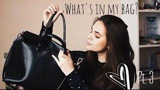 ЧТО В МОЕЙ СУМКЕ? 2 КУРС | Annie Brandon