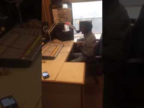 Freestyle of  KING T  at KPFT 90.1FM