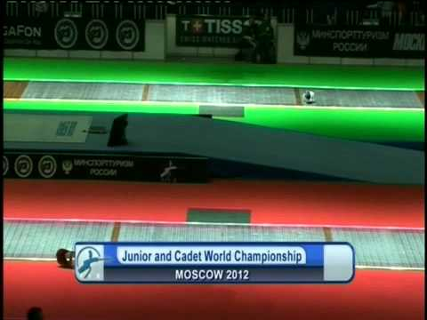 Junior and Cadet World Championship Moscow 2012