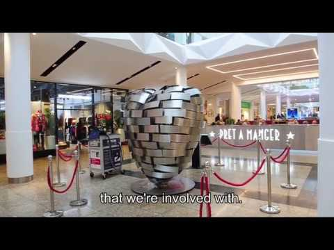 Heart of Steel sculpture. 13th December 2019