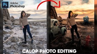 Calob Castellon Editing | Creative Photo Editing | Photoshop Tutorial | Atif Editz