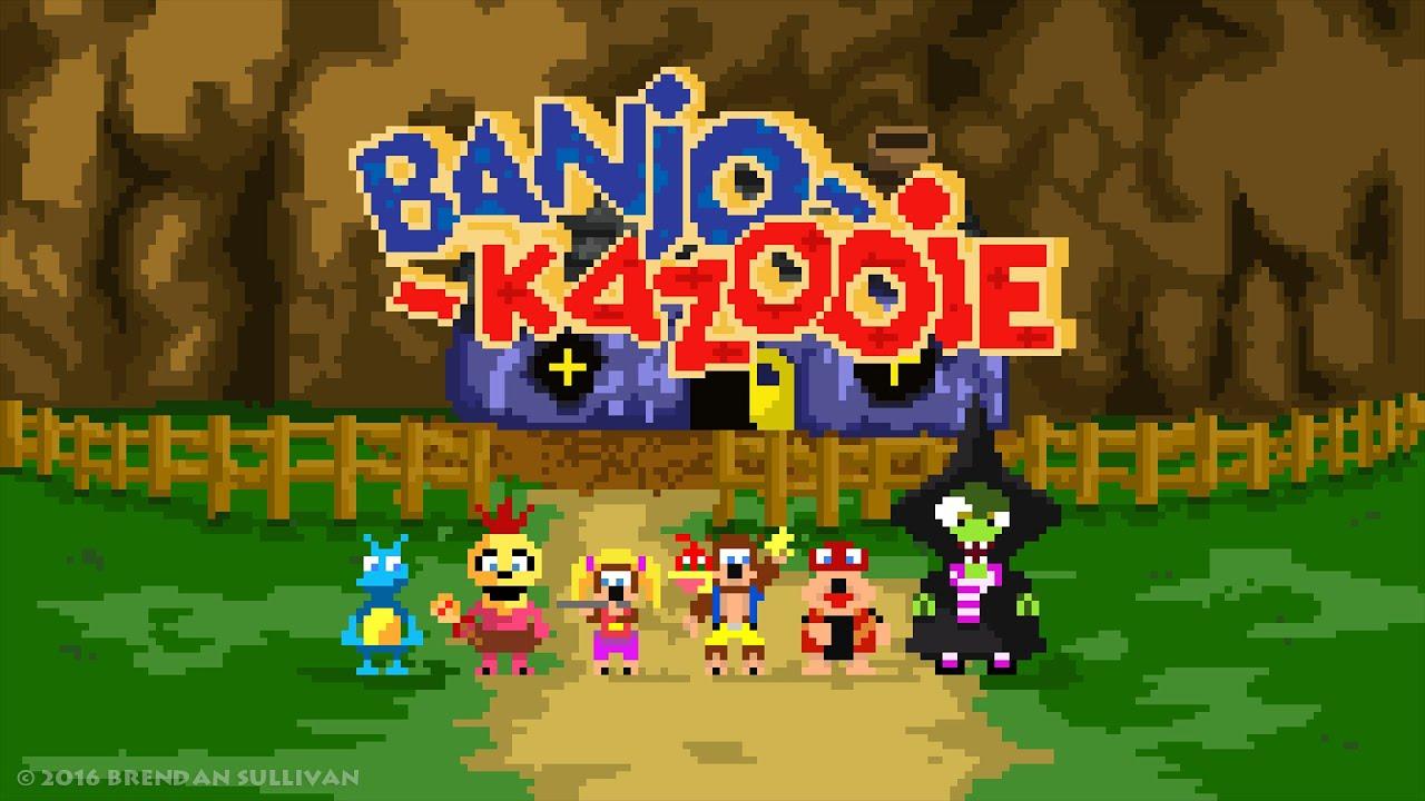 Banjo Kazooie - Intro(8 bit Cover) - YouTube