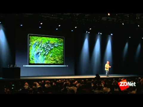 Apple unveils next-gen MacBook Pro with Retina Display