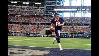 Peyton Manning Running Highlights- (Speed Kills)