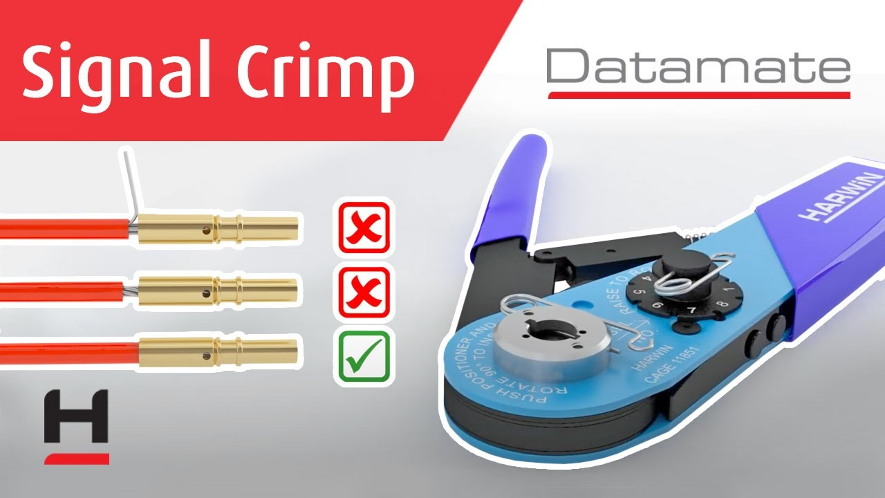 Youtube video for Datamate – Signal Crimping & Assembly Guide