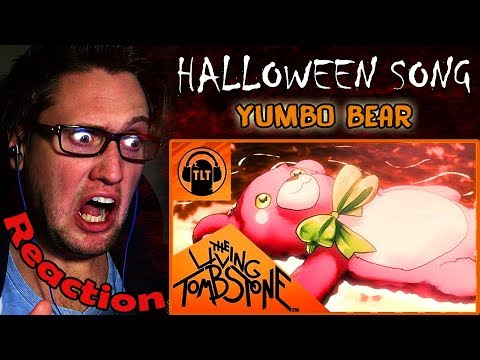 Halloween Song 🎃 - Yumbo Bear - דובון יומבו- The Living Tombstone REACTION!