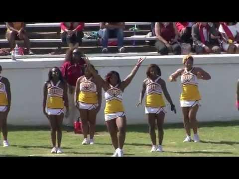 Twerking Cheerleaders