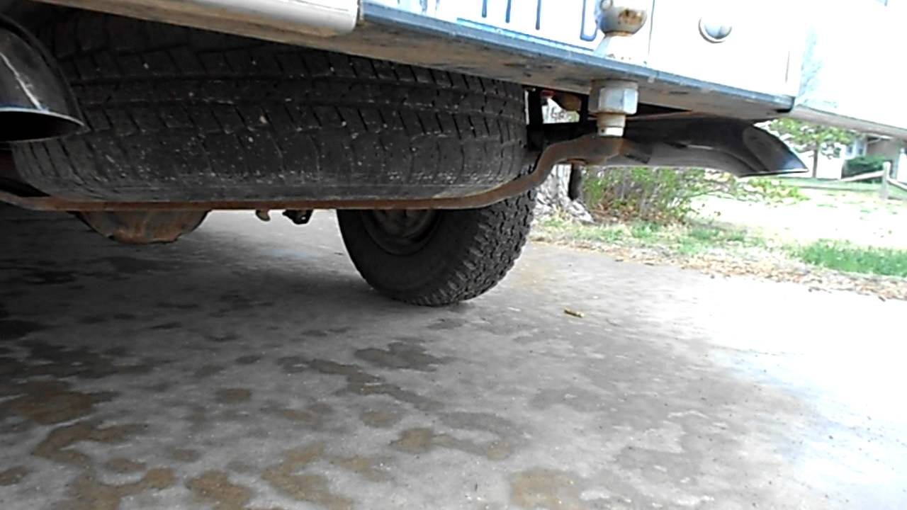 1993 ford f-150 true dual exhaust with 3