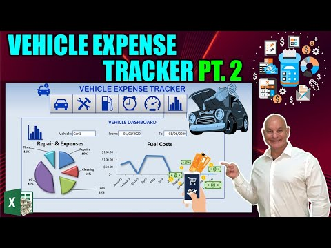 Track Expenses, Fuel, Mileage AND Reminders in this Amazing Excel Vehicle Expense Tracker [Part 2]