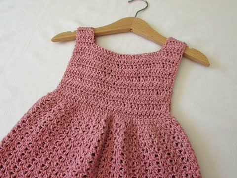 How to crochet an EASY party dress - any size