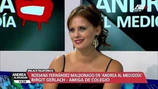 ANDREA AL MEDIODIA - ROSSANA FERNANDEZ MALDONADO - 16/04/18 - LUNES 16 DE ABRIL DEL 2018