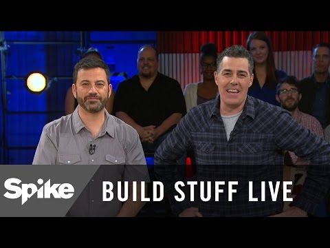 Jimmy Kimmel Watches Adam's First Show From 1993 | Build Stuff Live