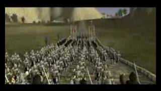 Lord of the rings total war intro
