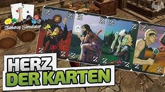 Herz der Karten - TableTop Simulator: Wizard - Deutsch German - Dhalucard