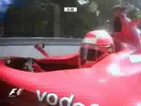 2006 F1 Canada Free Practise 3 MS Kimi