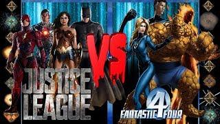 Justice League Movie (DC Comics) vs Fantastic Four (Marvel Comics) - Ultimate Mugen Fight 2017