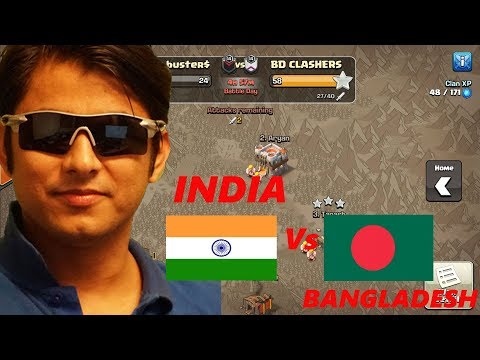 War Time | INDIA Vs BANGLADESH | Let's Attack | Clash of Clans