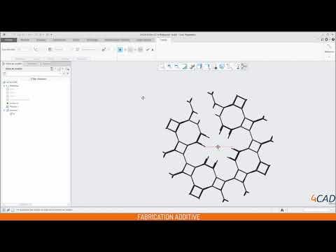Fabrication additive en 1 minute avec Creo