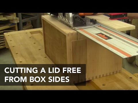 How to Cut Box and Chest Lids