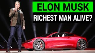 Tesla May Make Elon Musk the Richest Man Alive