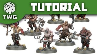 Games Workshop Tutorial: How To Paint Khorne Bloodreavers