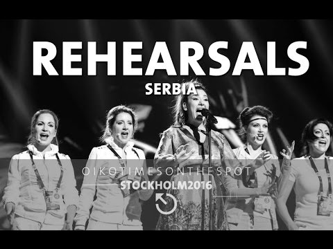 oikotimes.com: Sanja (Serbia 2016) hits high notes while preparing to rehearse