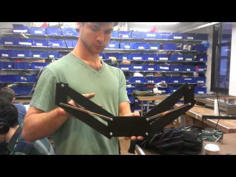 Testing Assistive Arm Exoskeleton Cardboard Prototype