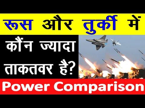 Russia और Turkey के बीच Military Power Comparison में कौन ज्यादा Powerful है Turkey vs Russia army