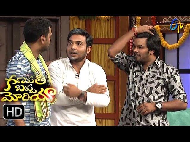 Sudigaali Sudheer Team Performance | Ganapathi Bappa Morya | 25th August 2017| ETV Telugu