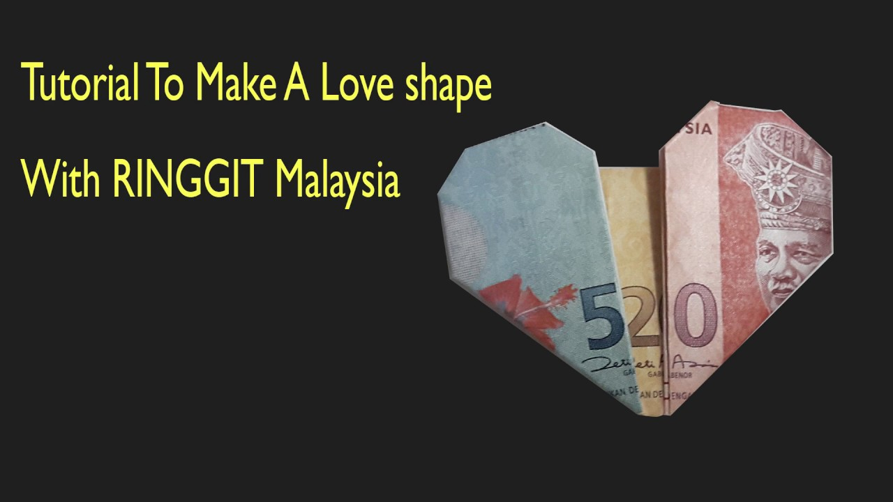 How To Make A Money Dollar Ringgit