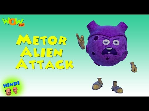 Meteor Alien Attack - Motu Patlu in Hindi WITH ENGLISH, SPAN
