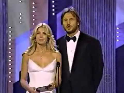 Liam Neeson & Natasha Richardson presenting on Tony Awards