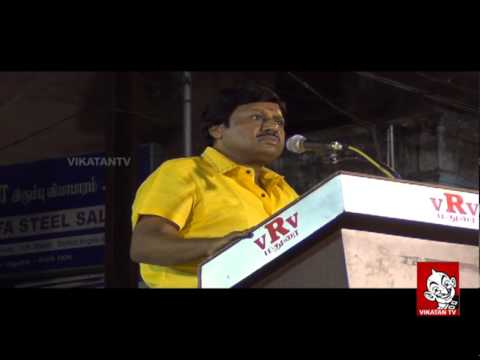 Ramarajan Attacks Karunanidhi - Junior Vikatan