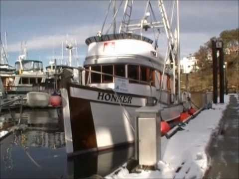 West coast troller conversion for sale youtube for Commercial fishing boats for sale west coast