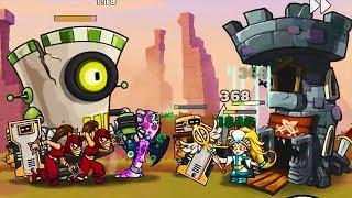 Tower Conquest игра как мультик для детей td Flavios 29
