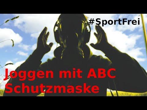 Selbsttest -Joggen Mit ABC Schutzmaske - Nix Höhentraining #SportFrei 2